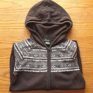 Eddie Bauer Zip-Up Hooded Jacket